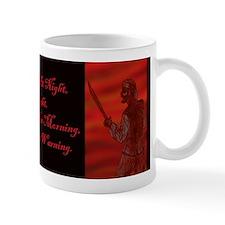 Red Skies At Night Pirate Mug