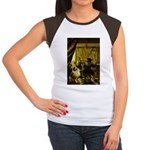 The Artist-AussieShep1 Women's Cap Sleeve T-Shirt
