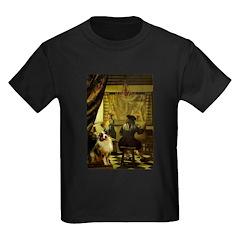 The Artist-AussieShep1 Kids Dark T-Shirt