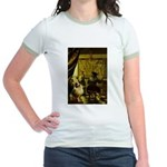 The Artist-AussieShep1 Jr. Ringer T-Shirt