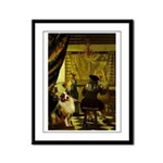 The Artist-AussieShep1 Framed Panel Print
