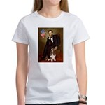 Lincoln / Basset Hound Women's T-Shirt