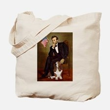 Lincoln / Basset Hound Tote Bag