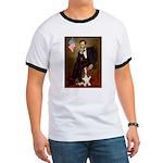 Lincoln / Basset Hound Ringer T