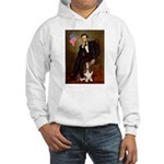 Lincoln / Basset Hound Hooded Sweatshirt