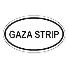 Gaza Strip Oval Decal