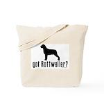 got rottweiler? Tote Bag