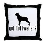 got rottweiler? Throw Pillow