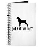 got rottweiler? Journal