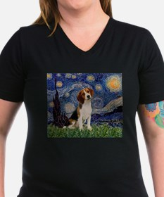 Starry Night / Beagle Shirt