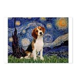 Starry Night / Beagle Postcards (Package of 8)