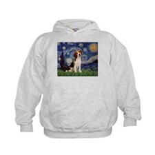 Starry Night / Beagle Hoodie