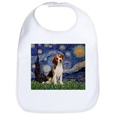 Starry Night / Beagle Bib