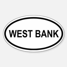West Bank Oval Decal