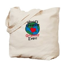 World's Greatest Grammy Tote Bag