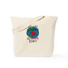 World's Greatest Grampa Tote Bag