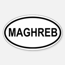 Maghreb Oval Decal