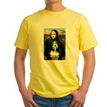 Mona / Bearded Collie Yellow T-Shirt