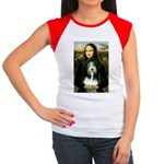 Mona / Bearded Collie Women's Cap Sleeve T-Shirt