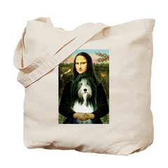 Mona / Bearded Collie Tote Bag