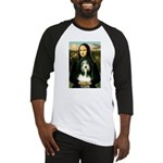 Mona / Bearded Collie Baseball Jersey