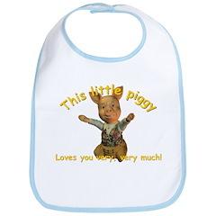 This Little Piggy - Bib
