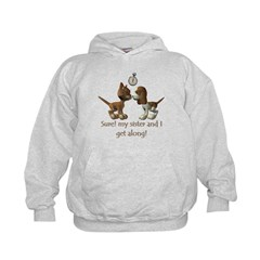 Like Cats and Dogs - Hoodie
