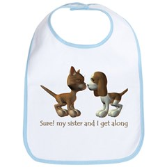 Like Cats and Dogs - Bib