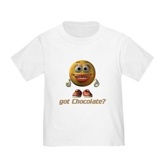 Got Chocolate? - Girl's Toddler T-Shirt