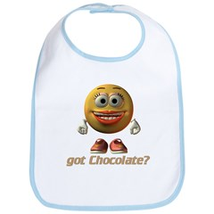Got Chocolate? - Girl's Bib