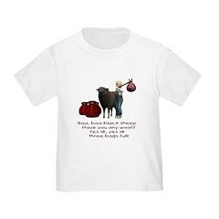 Baa Baa Black Sheep - Toddler T-Shirt