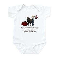 Baa Baa Black Sheep - Infant Bodysuit