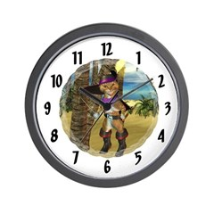 Wall Clock - Puss 'N boots
