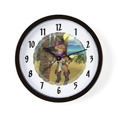 Wall Clock - Puss 'N boots