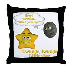 Throw Pillow - Twinkle, Twinkle