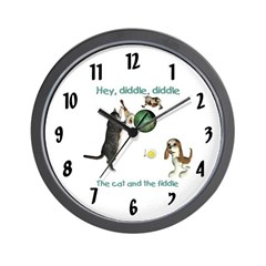 Wall Clock - Hey Diddle, Diddle