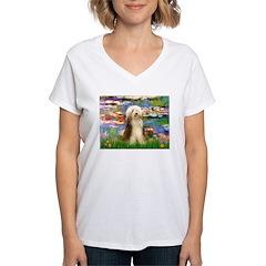 Lilies / Bearded Collie Shirt