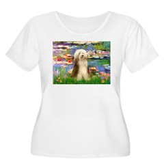 Lilies / Bearded Collie T-Shirt