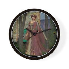 Sleeping Beauty Wall Clock