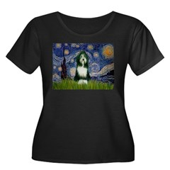 Starry Night /Bearded Collie T