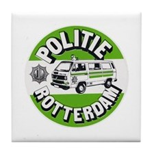 Politie Rotterdam Tile Coaster