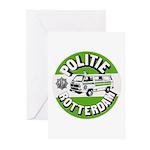 Politie Rotterdam Greeting Cards (Pk of 10)