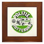 Politie Rotterdam Framed Tile