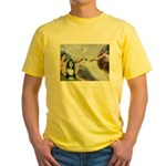 Creation / Bearded Collie Yellow T-Shirt