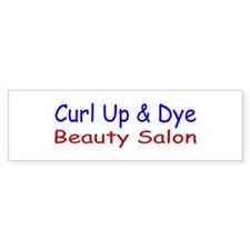 Curl Up & Dye Bumper Bumper Sticker