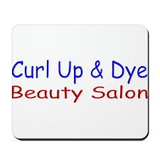 Curl Up & Dye Mousepad
