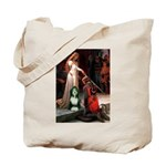 Accolade / Bearded Collie Tote Bag
