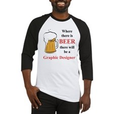 Graphic Designer Baseball Jersey
