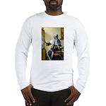 Pitcher / Bearded Collie Long Sleeve T-Shirt