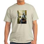 Pitcher / Bearded Collie Light T-Shirt